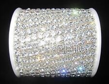 SS18 1Yard Silver Crystal Rhinestone Close Chain Trim, Hot Promotion!