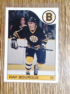 1985-86 O-Pee-Chee (RAY BOURQUE) # 40