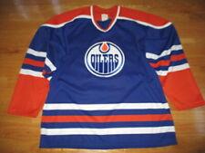 CCM Maska WAYNE GRETZKY No. 99 EDMONTON OILERS (Men's LG) Hockey Jersey