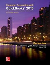 Computer Accounting with QuickBooks 2015 by Donna Kay, 17th Edition