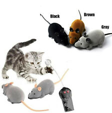 Remote Control RC Rat Mouse Wireless For Cat Dog Pet Funny Toy Novelty Gift XG