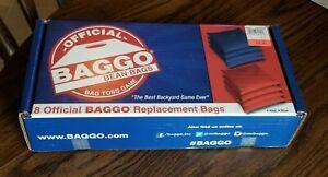 Baggo Beanbag set 4 Red 4 Blue New Unopened box