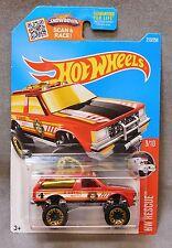 2016 Hot Wheels Car 213/250 Chevy Blazer 4x4 - Fire Department - K/L Case