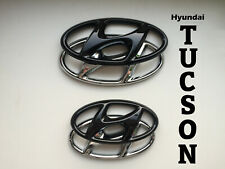 Hyundai Tucson N-Line TLE Set Cover Emblem hochglanz–schwarz blacked out Badge