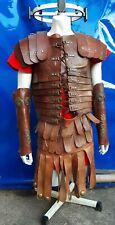 Costume teatrale di CENTURIONE ROMANO - Marco Antonio - Adulto + ELMO in OTTONE