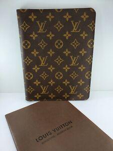 Louis Vuitton Monogram Agenda Bureau Cover w/ Address Book