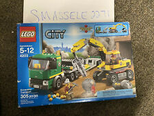 LEGO City Excavator Transport (4203) W/ Packaging Box Wear