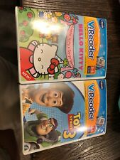 VTech - V.Reader Software - Toy Story And Hello Kitty. New