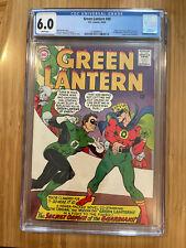 Green Lantern #40 (1965) CGC 6.0 Crisis begins GA Green Lantern crossover