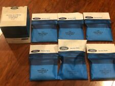 """NOS 1968 1969 1970 FORD MUSTANG SHELBY CONCOURS CORRECT 2 1/4"""" EXHAUST CLAMPS 6X"""