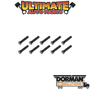 Dorman: 610-0367.10 - Wheel Lug Stud - Thread M20 x 1.50 (10 Pack)