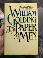 1st Edition THE PAPER MEN William Golding NOBEL PRIZE Fiction FIRST PRINTING
