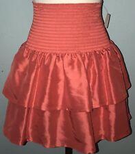 PJK The Man Repeller Rene Layered Skirt Skirt M Anthropologie NEW! Sz M Coral