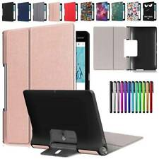 "Leather Flip Stand For Lenovo Yoga Smart Tab5 YT-X705F 10.1"" Tablet Case Cover"