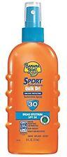 Banana Boat Sport Performance Quik Dri Spray Sunscreen SPF 30 6 oz
