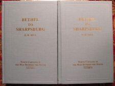 BETHEL TO SHARPSBURG - BY D.H. HILL C.S.A.- CIVIL WAR MEMOIR - NEW, COMPLETE SET