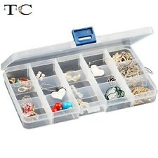 Jewelry Display Storage Box Beads Accessories Holder Case Ring Earring Studs Box