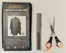 NYLON CUTTING CAPE with FREE Scissor & Cutting Comb  --  FREE SHIPPING