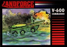 1991 Crown Landforce Series 2 #7 V-600 Commando Fighting Vehicle