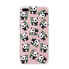 Pour Iphone 7 8 PLUS 5 6 6S Etuis Housse Coque Panda Ultra Rubber TPU Case Cover