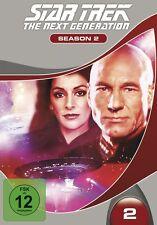 STAR TREK TNG S2 (SIR PATRICK STEWART, MARINA SIRTIS,...)  6 DVD NEU