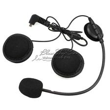 Earpiece Microphone For BT-S2 BT-S1 Intercom Helmet Headset Portable