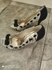 Dorothy perkins Women's Bowtie High Heels UK Size 5 Worn Once Purchased For £50