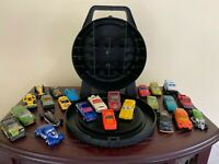 Hot Wheels Tire Shaped Carrying Case with 24 metal cars