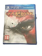 God of War III 3 Remastered Ps4 UK PAL Sony PlayStation 4 Complete