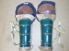 Vintage Hockey Norcon ShinGuards William R. O`Conner Co. St. Paul 1 Minn. Cool!