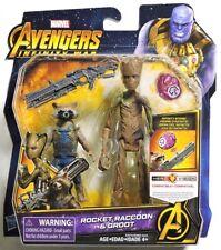 ESAR1424 Avengers Infinity War ROCKET RACCOON & GROOT Figures from Hasbro (2017)