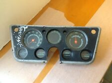 1969-72 CHEVY GMC PICKUP TRUCK BLAZER INSTRUMENT CLUSTER WITH GAUGES PED-4