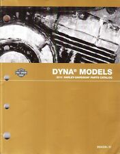 2011 Harley Dyna Wide Low Glide Custom Super Street Fat Bob Parts Manual Catalog