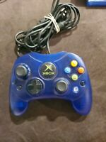 Microsoft xbox Video Games Controller blue tested working