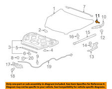 GM OEM Hood-Upper Hinge Bolt 11589064