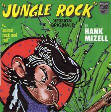 """HANK MIZELL JUNGLE ROCK / ANIMAL ROCK AND ROLL FRENCH 45 PS 7"""""""