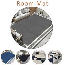 MODERN DESIGN RUG BLACK GREY SOFT LARGE LIVING ROOM FLOOR BEDROOM CARPET RUGS UK