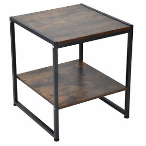 2 Layer Coffee Desk Multifunctional Tea Table Sofa Table For Home Department EM9
