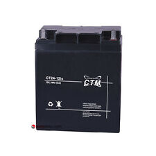 CTM CT24-12iS 12V 24Ah AGM Batterie Standby Notstrom Alarmanlage BMZ Akku
