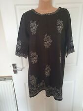 ladies size 14 shift dress by white stuff