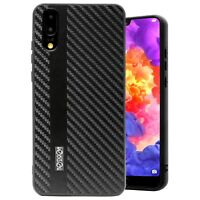 Huawei P20 Noziroh Carbon Cover Case + Vetro Temperato Curvo 3D Full Edge Rugged