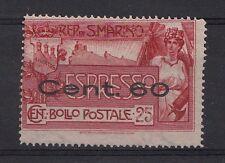 SAN MARINO VARIETA'  c. 60 ESPRESSI 1926 DENT. SPOSTATA