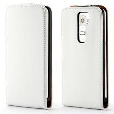LG G2 D802 handy tasche weiss flip case cover etui schutz hülle cover