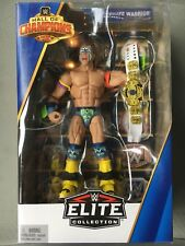 WWE Mattel Ultimate Warrior Hall of Champions Exclusive Elite Series 3 Figure