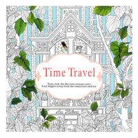 Time Travel Parent-child Graffiti Book Children Coloring Paint Inky Exploration
