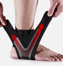 New Adjustable Elastic Ankle Sleeve Brace Guard Orthotics Foot Support Sports