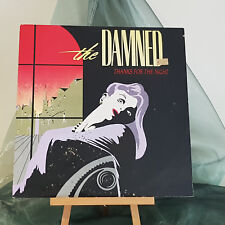"""The Damned - Thanks For The Night - 12"""" single - DAMNED 1T - Picture Sleeve"""