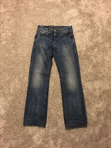 Men's American Eagle Outfitters Original Boot Jeans Size 28x34