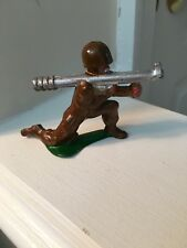 "SOLDIER IN KNEELING POSITION FIRING BAZOOKA;EXCELLENT CONDITION; ""SAME-DAY SHIP"