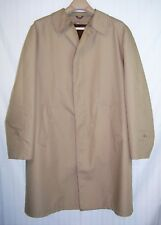 VINTAGE SEARS men's TRENCH COAT tan 44R The Men's Store ZIP OUT LINER